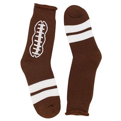 Mns Pigskin brown crew sock