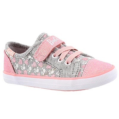 Inf Barbie AC grey/pink sneaker
