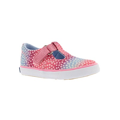 Keds Infants' DAPHNE pink dot casual sneakers