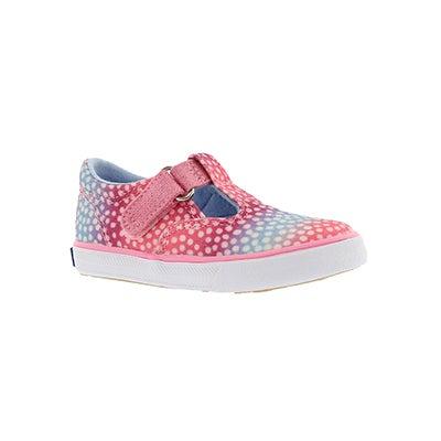 Infs-g Daphne pnk dot casual sneaker
