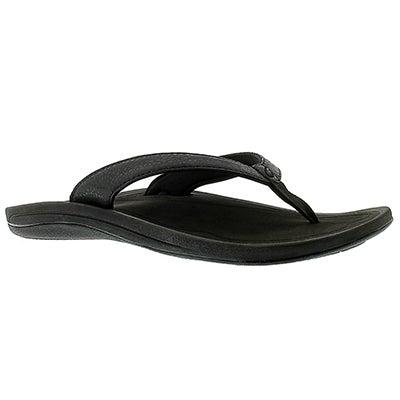 OluKai Women's KULAPA KAI black flip flops