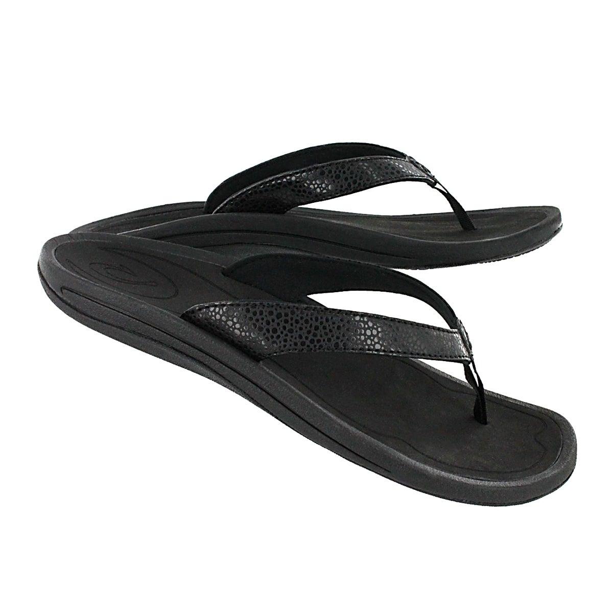Lds Kulapa Kai black thong sandal