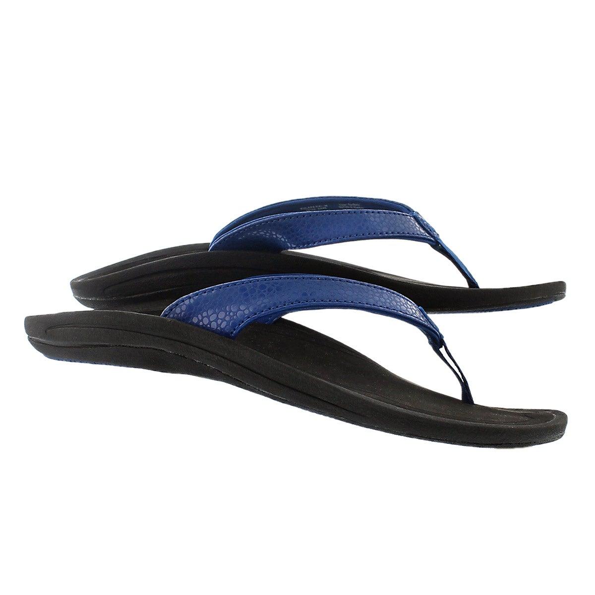 Lds Kulapa Kai blue thong sandal