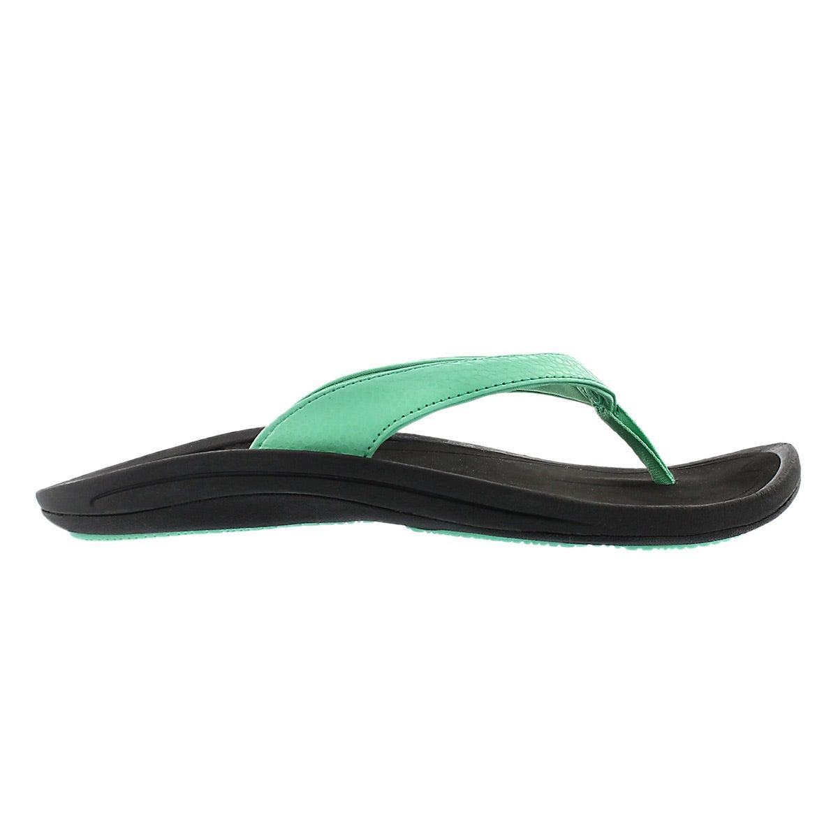 Lds Kulapa Kai pale jade thong sandal