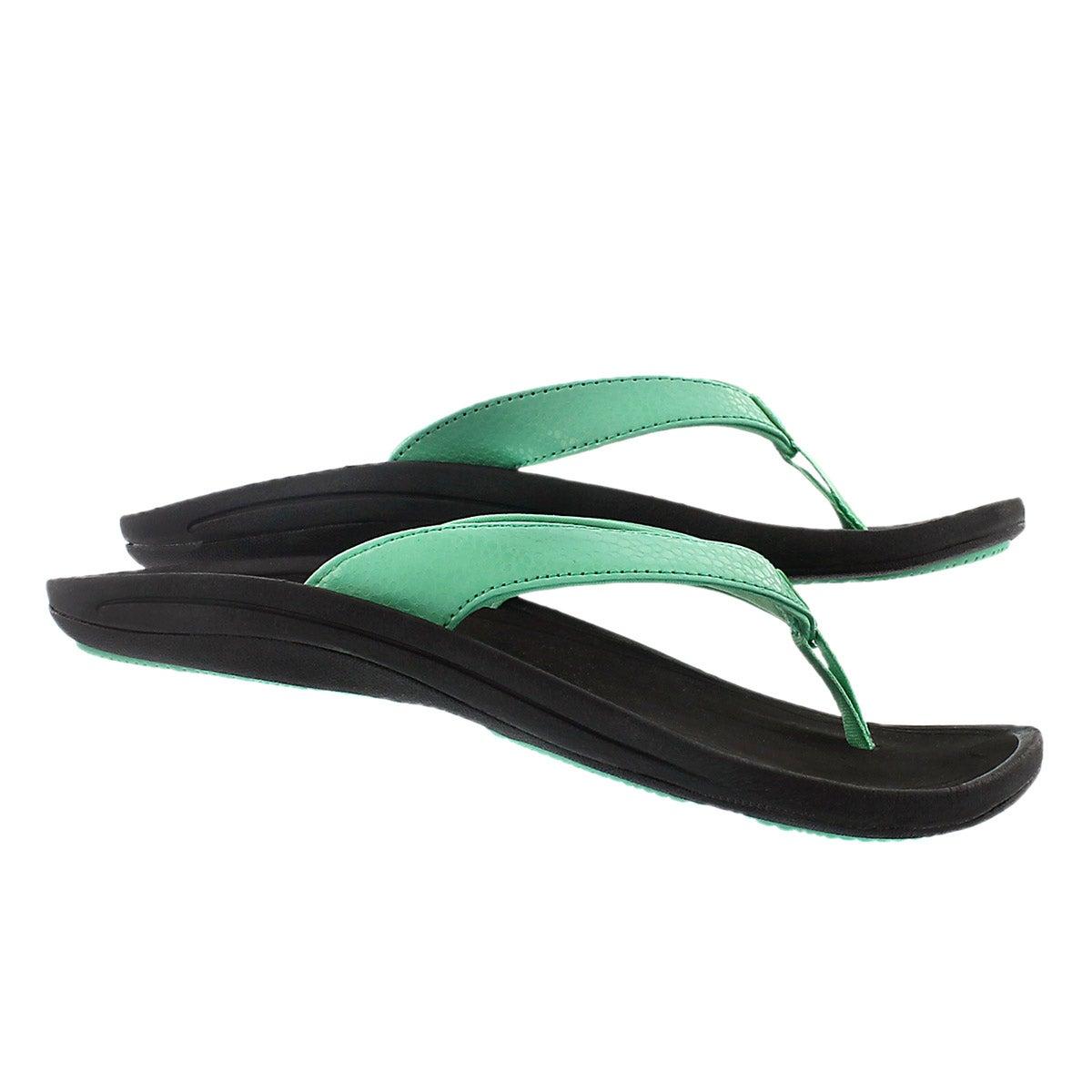 Sandale tong KULAPA KAI, jade pâle, fem