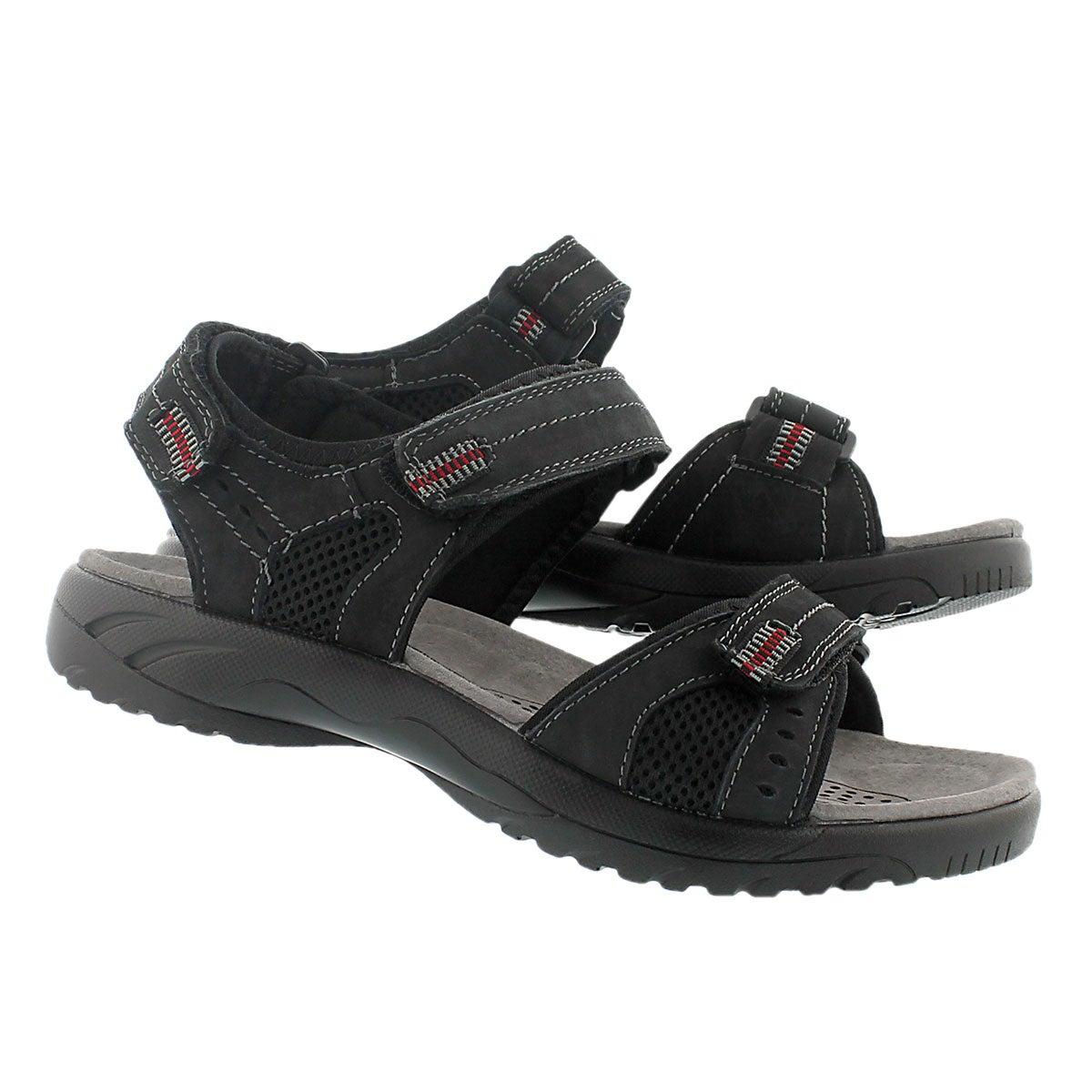 Sandale sport Kurt, noir, hommes
