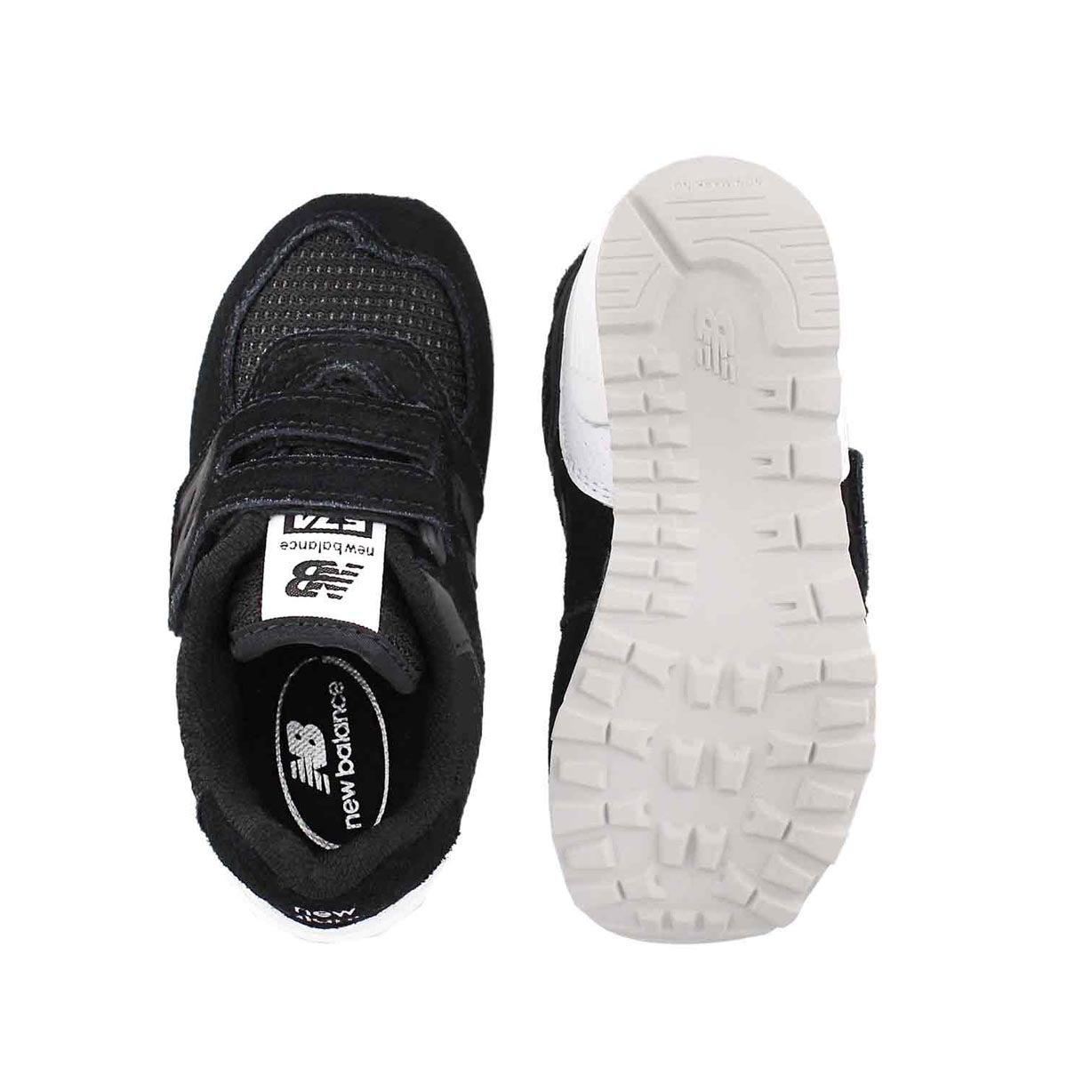 Infs 574 black/white sneaker