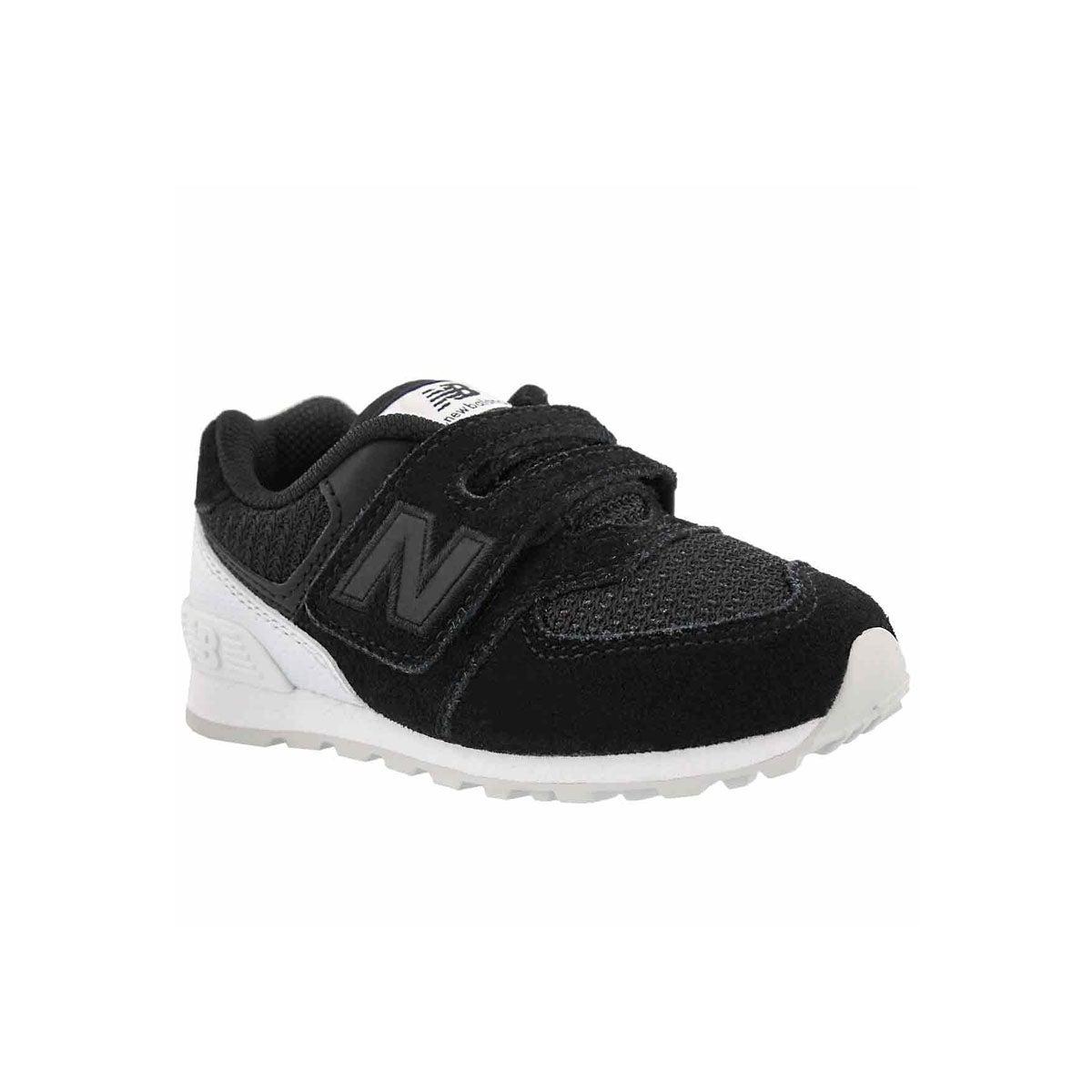 Infants' 574 black/white sneakers
