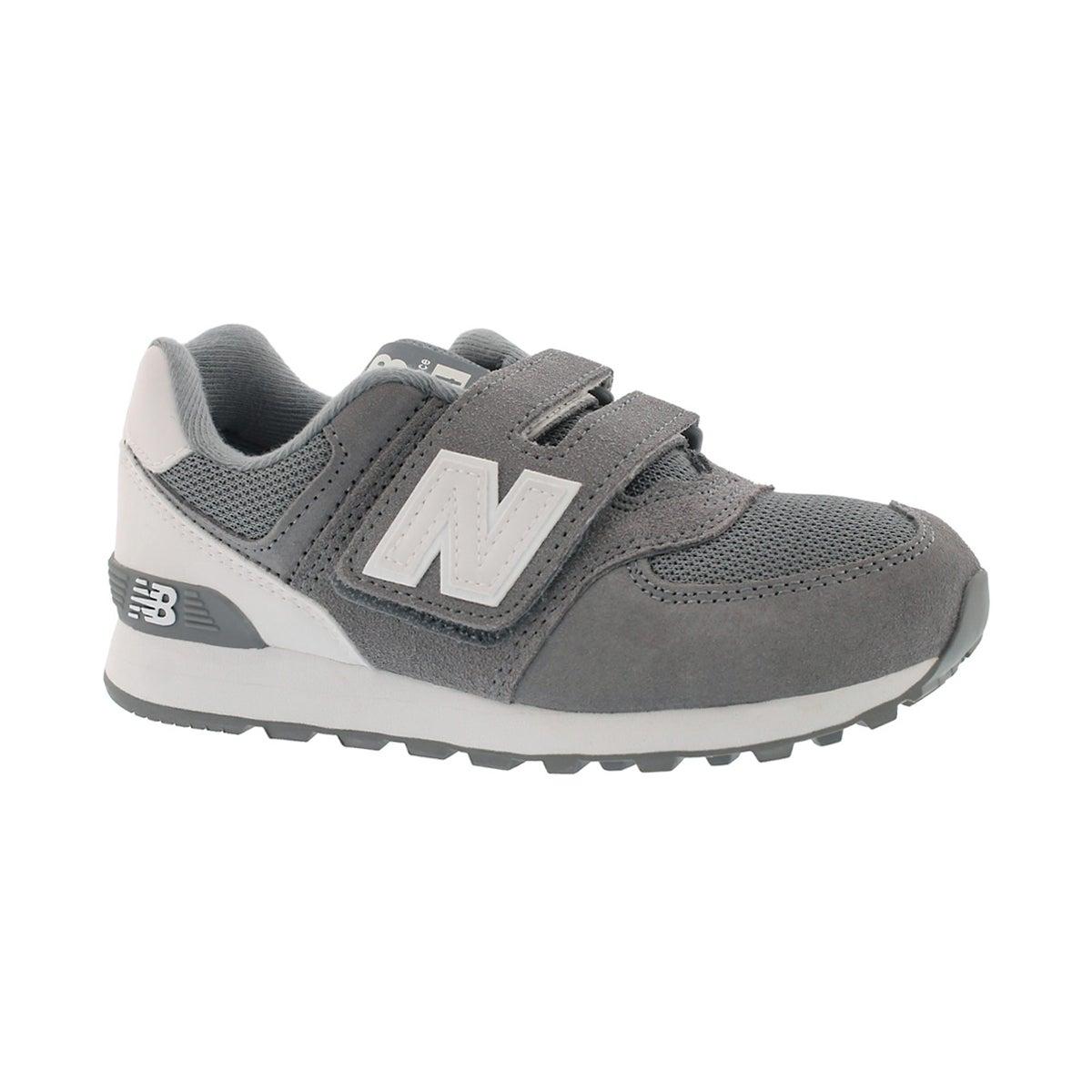 Boys' 574 grey/white sneakers