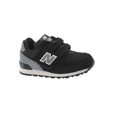 Infs-b 574 black/grey sneaker
