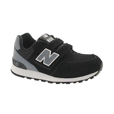 Bys 574 black/grey sneaker