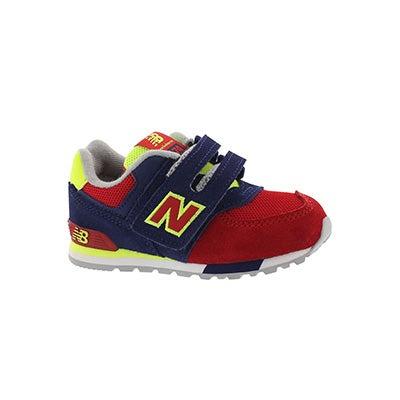Infs 574 blue/red sneaker