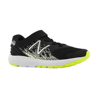 Bys Urge black/glow bungee lace sneaker
