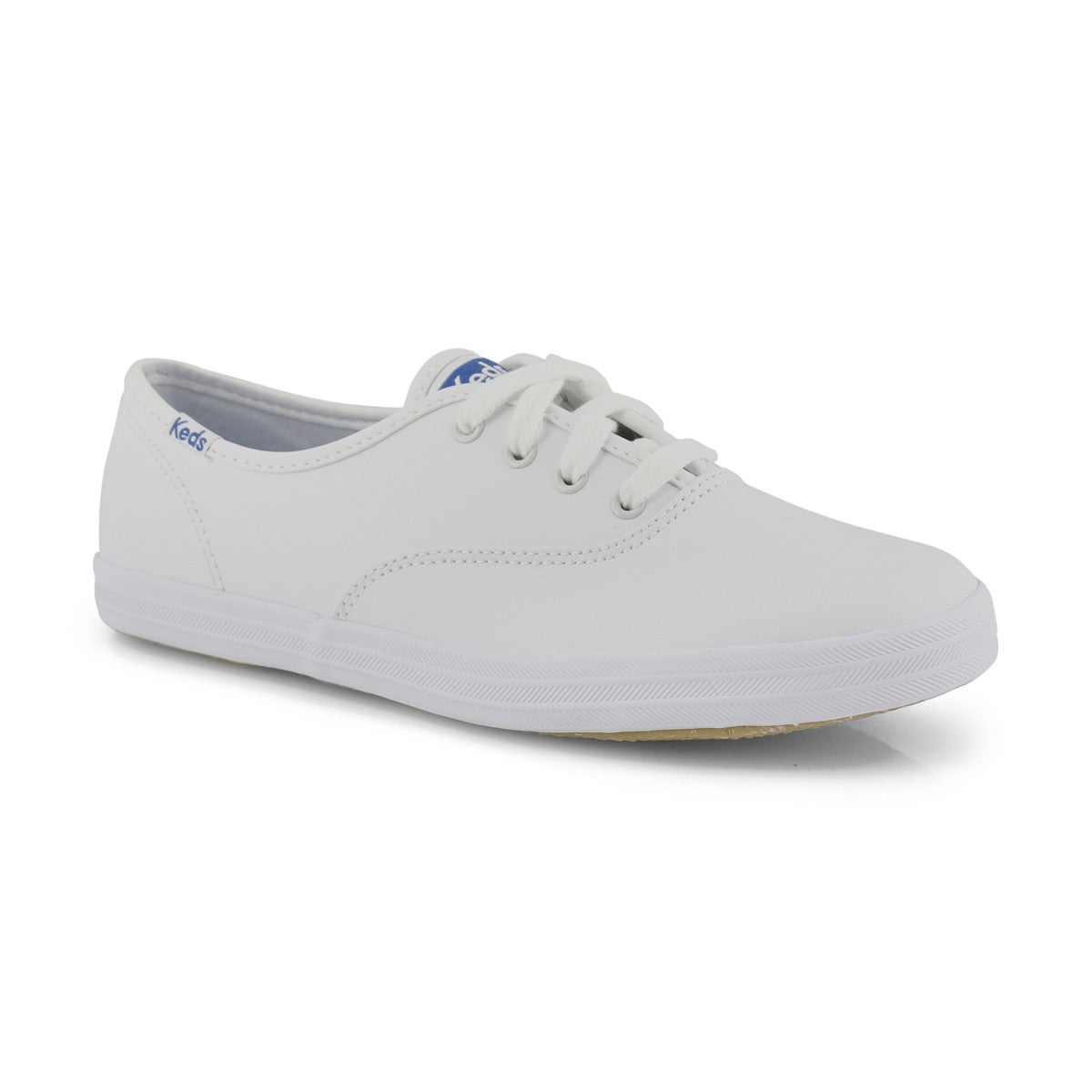 Kids' CHAMPION white leather sneakers