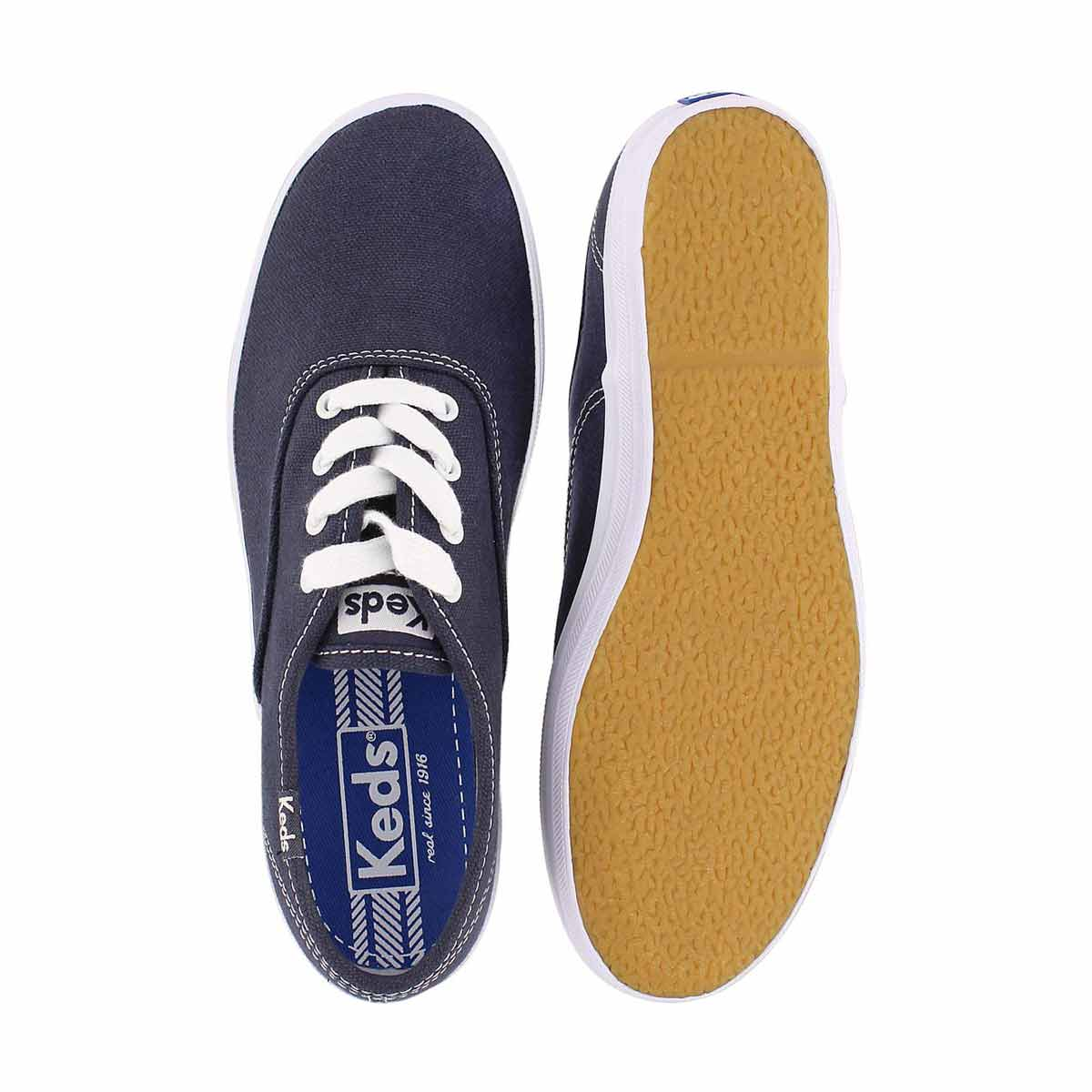 Kds Champion navy canvas sneaker