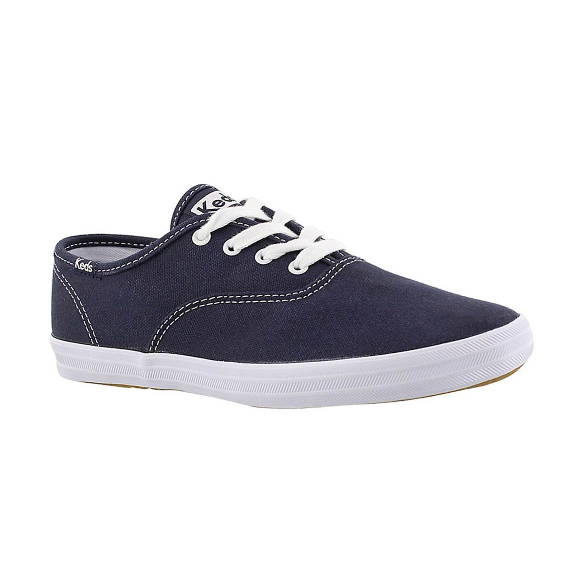 Girls' CHAMPION navy canvas sneakers
