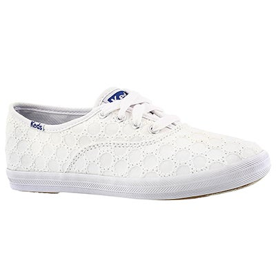 Keds Espadrilles CHAMPION CVO SEASONAL blanc, filles
