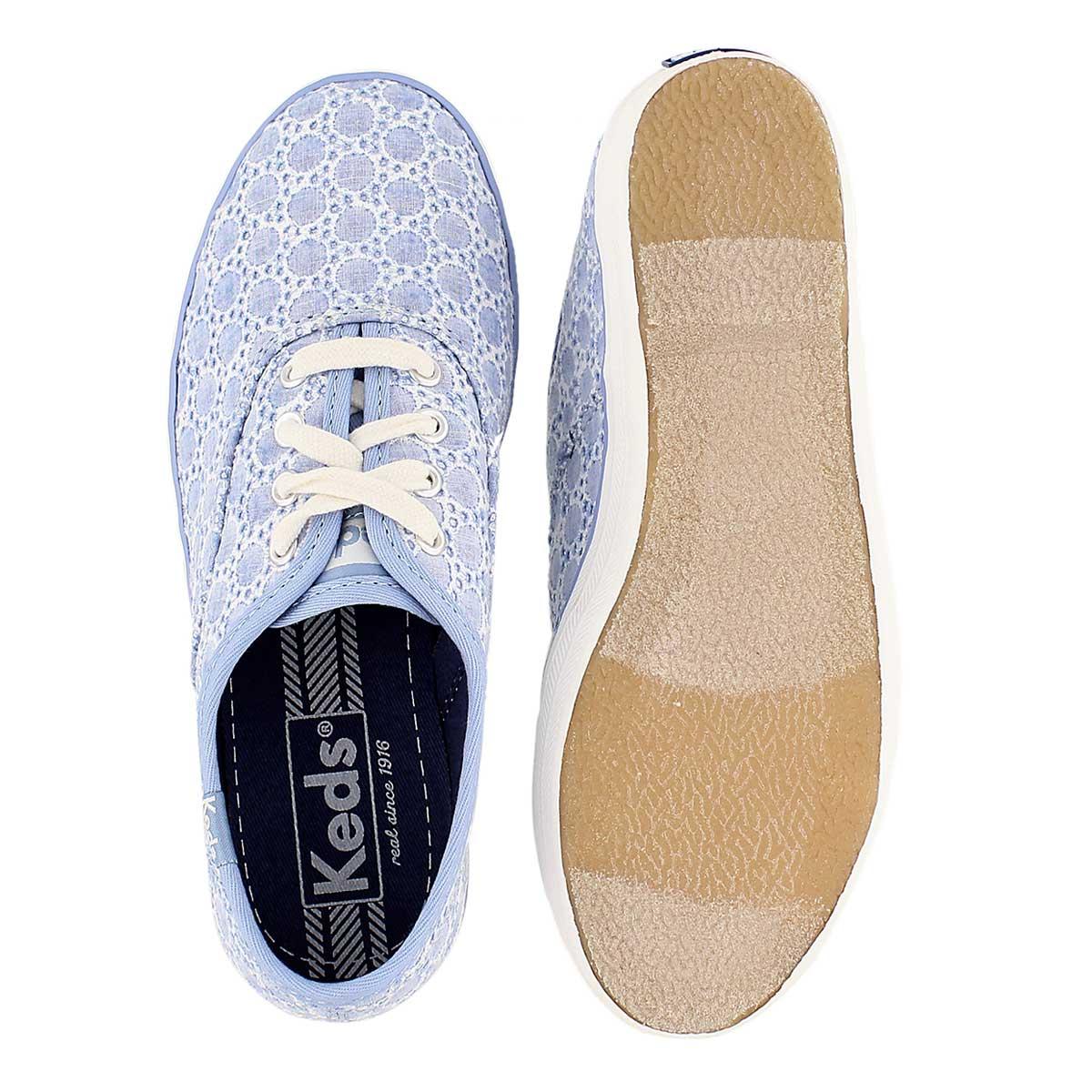 Grls Champion CVO Seasonal blue sneaker