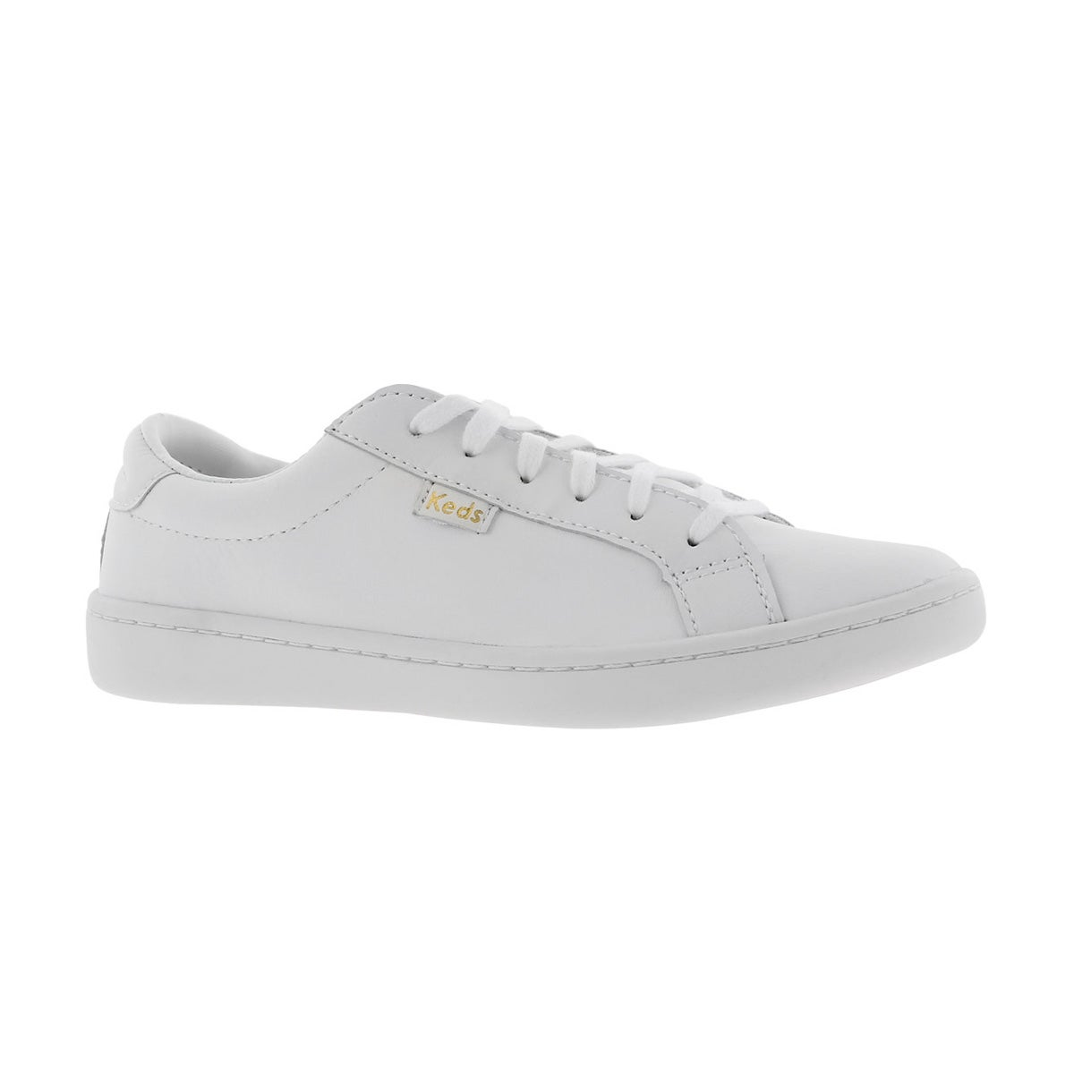 Grls Ace white lace up sneaker