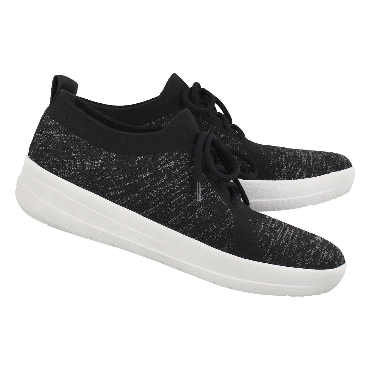 Lds Uberknit Sporty blk sneaker