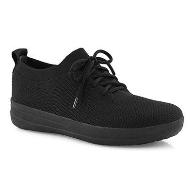 Lds Uberknit Sporty blk/blk sneaker