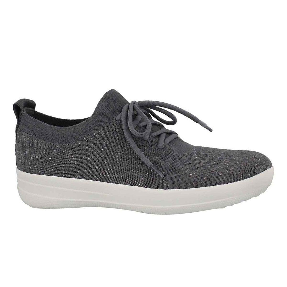 Women's UBERKNIT SPORTY char/mtl pew sneakers