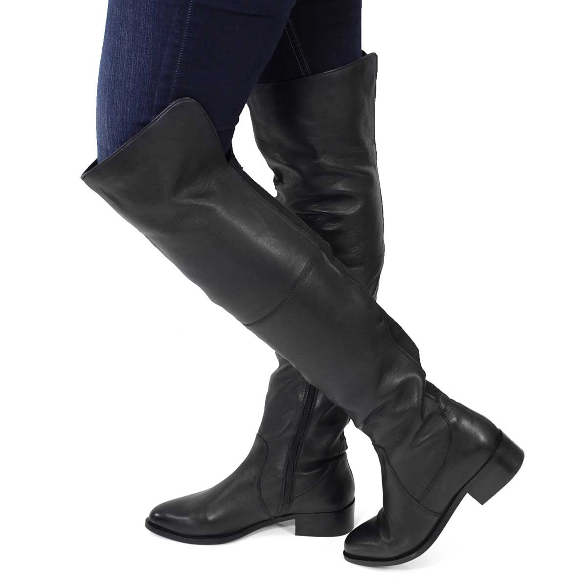 Lds Lainey black knee high boot
