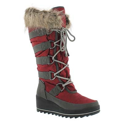 Cougar Women's LANCASTER merlot wpf pull on winter boots