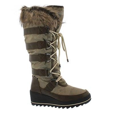 Lds Lancaster oat wpf pullon winter boot