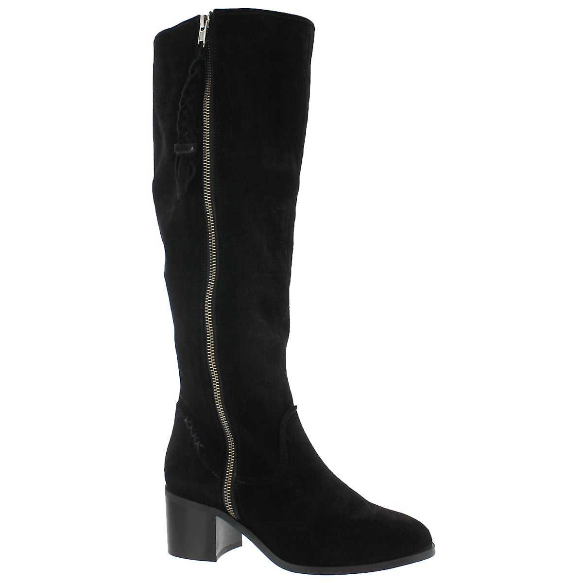 345f5b5ba77 Women's LASSO black knee high dress boots