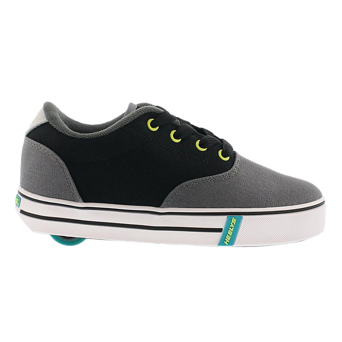 Bys Launch blk/char sneaker