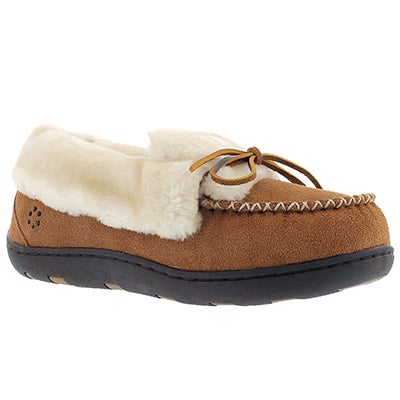 Tempur-Pedic Women's LAURIN hashbrown lace up moccasins