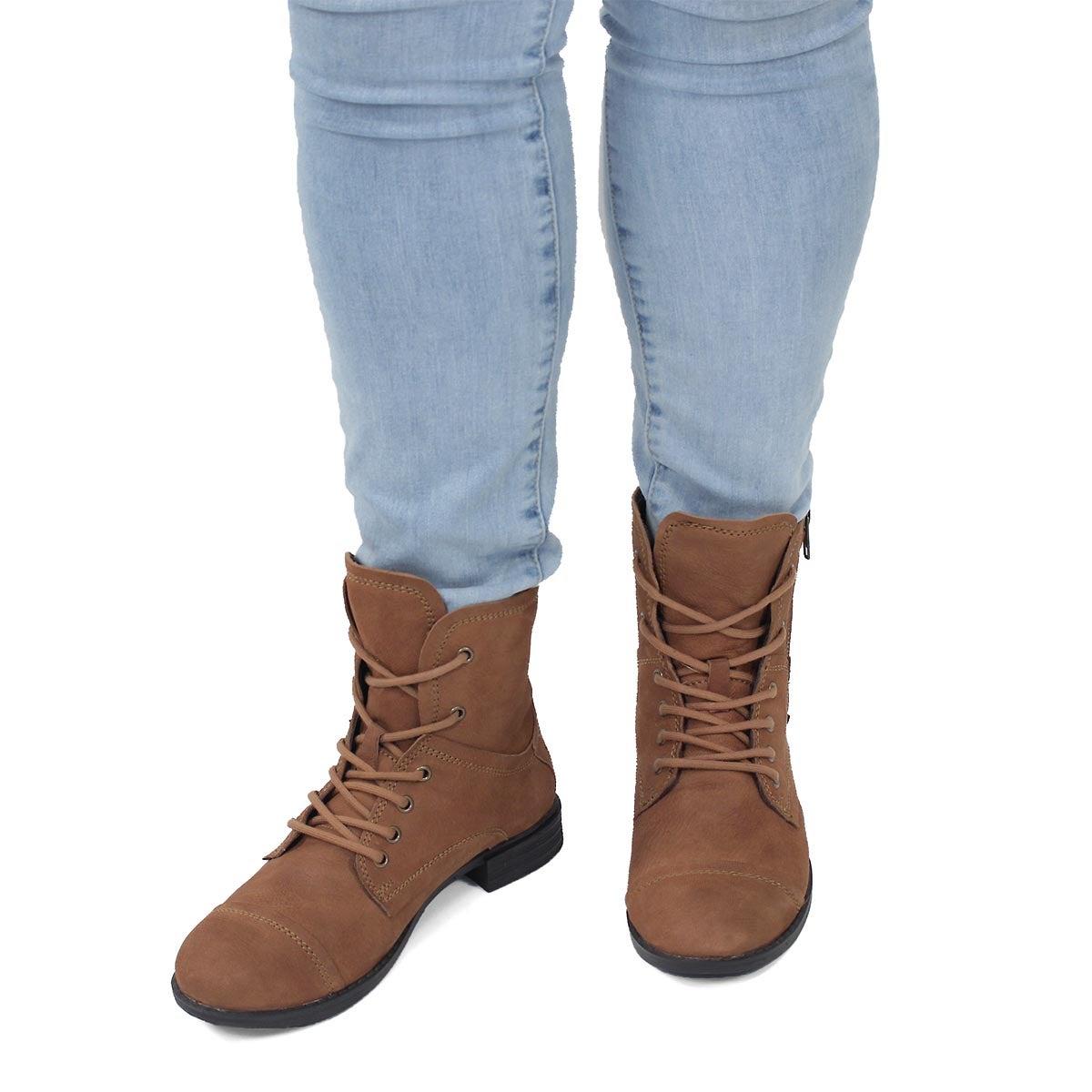 Lds Layla cgnc side zip combat boot