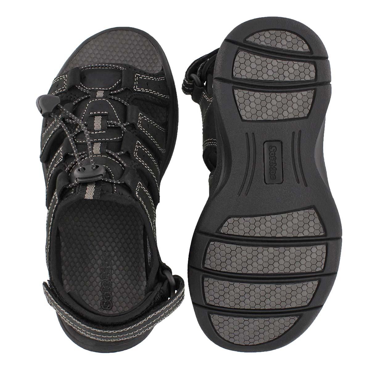 Mns Lazar black sport sandal