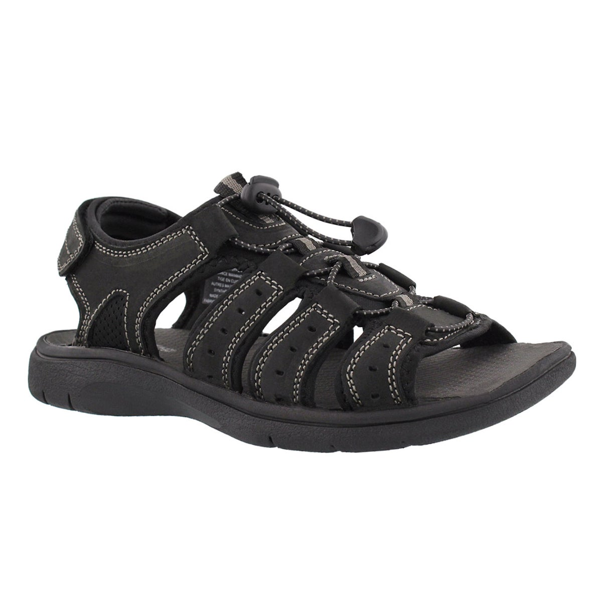 Men's LAZAR black sport sandals
