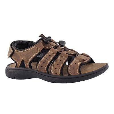 Mns Lazar dark brown sport sandal