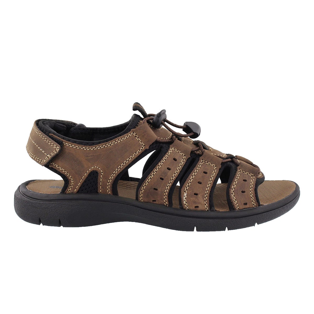 Mns Lazar dark brown sport sandal