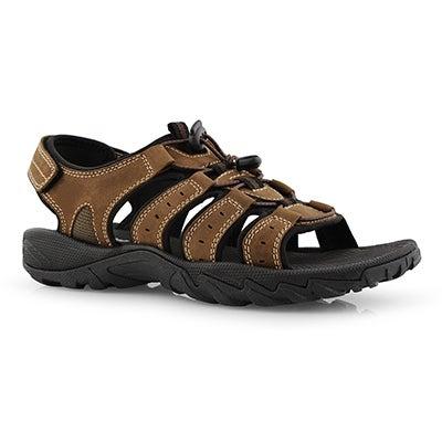 Mns Lazar 2 brown sport sandal