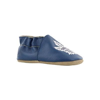 Infs Leafs blue slipper
