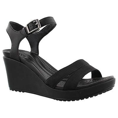 Crocs Sandales LEIGH II, noir, femmes