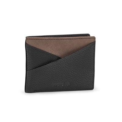 Mns Lennox blk slimfold wallet