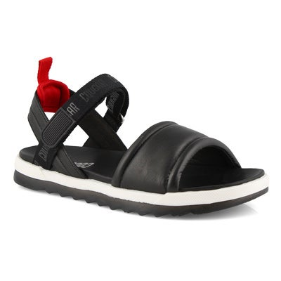 Lds Leona black sport sandals