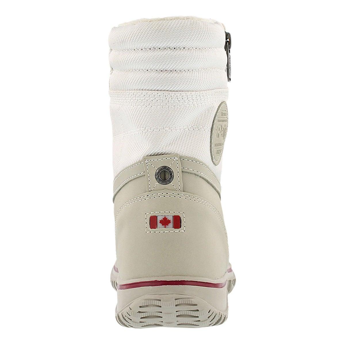 Lds Leslie white wtpf winter boot