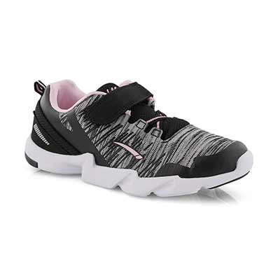 Grls Lightning black/pink sneaker