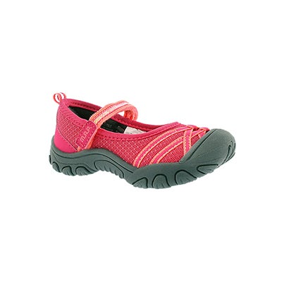 Inf Lilith 3 pink mary jane casual shoe