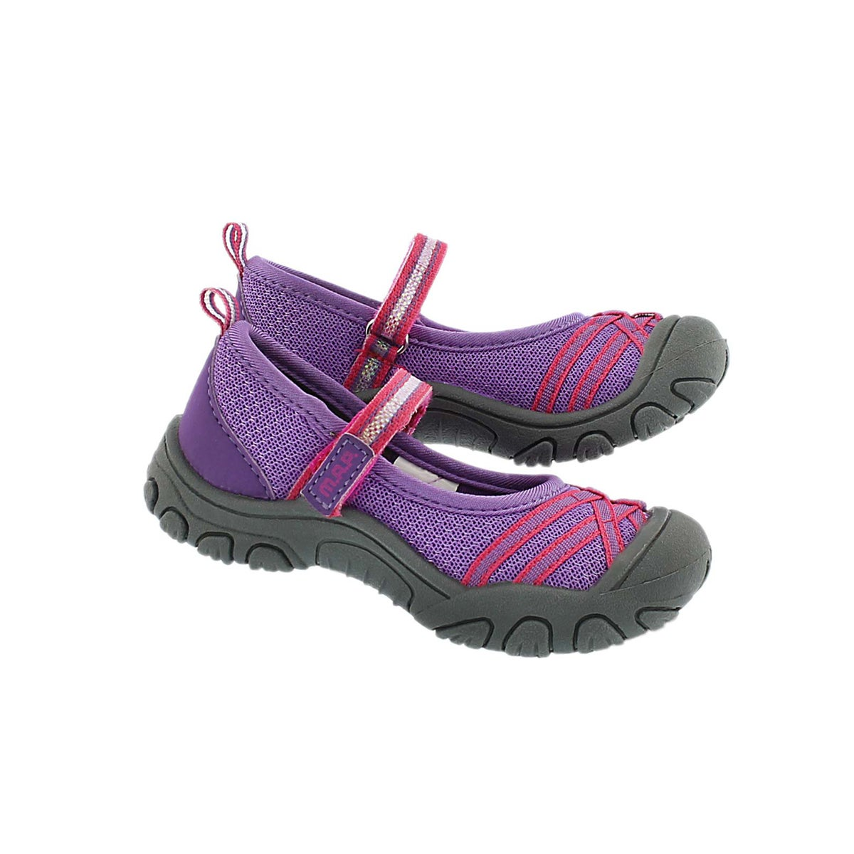 Inf Lilith 3 ppl mary jane casual shoe