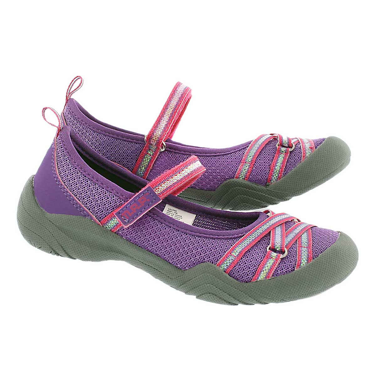 Grl Lilith 3 ppl mary jane casual shoe