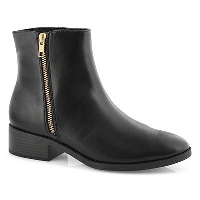 Lds Liman black vegan dress bootie