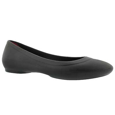 Lds Lina black flat- wide