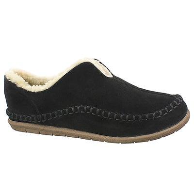 Foamtreads Men's LINCOLN black closed back slippers